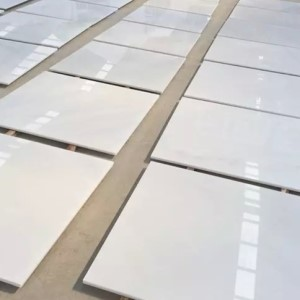 China pure white marble floor tiles